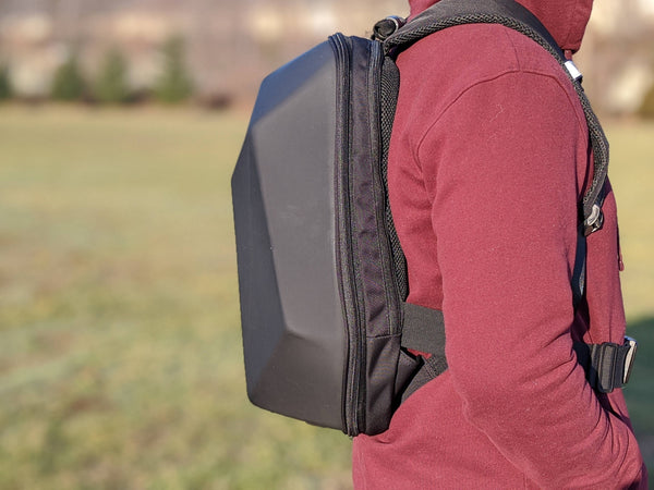 Cyber Backpack - Anti-theft, Rigid Shell with Zip out Expansion