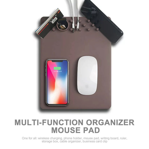 Wireless Charging Mouse Pad Pro