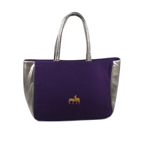 Shoulder Bag with Deer Print