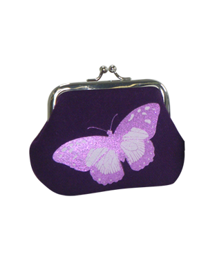 Blazer Butterfly Print Coin Purse