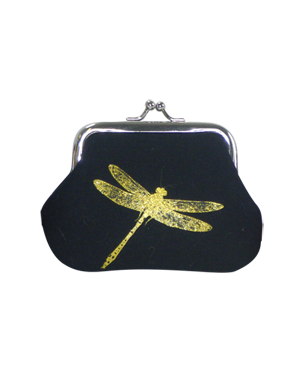 Blazer Dragonfly Print Coin Purse