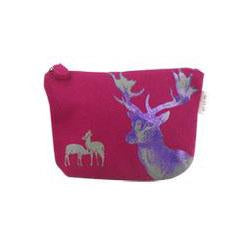 Blazer Casual Pouch with Deer Print