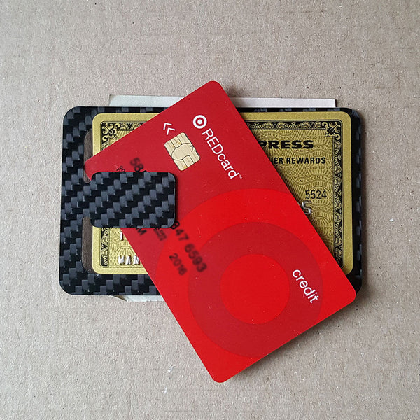 Carbon Fiber Credit Card and ID Holder