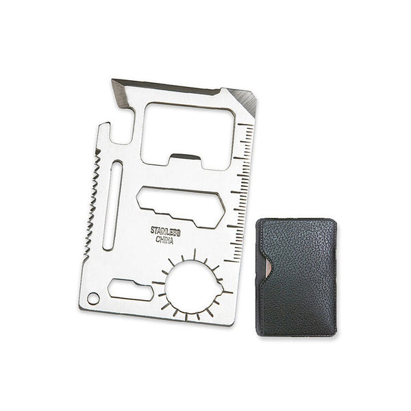 11-in-1 Wallet EDC Survival Tool Card