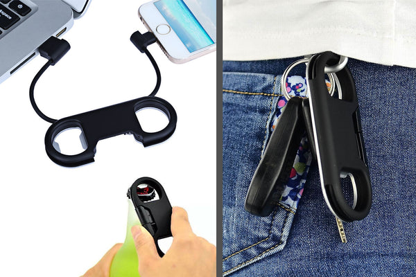 Charge Sync Cable with Bottle Opener