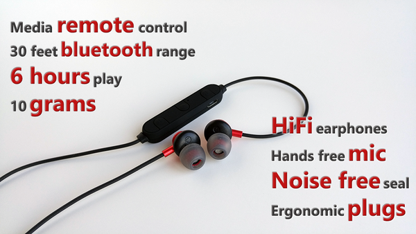 ATOM - Smallest Bluetooth Earphones with Mic