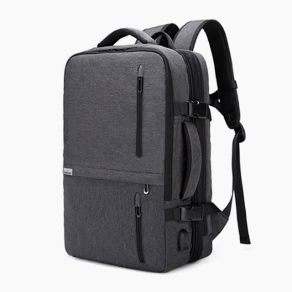 XPND Backpack expands from 3 inches thin to almost 12 inches for 35 L Capacity