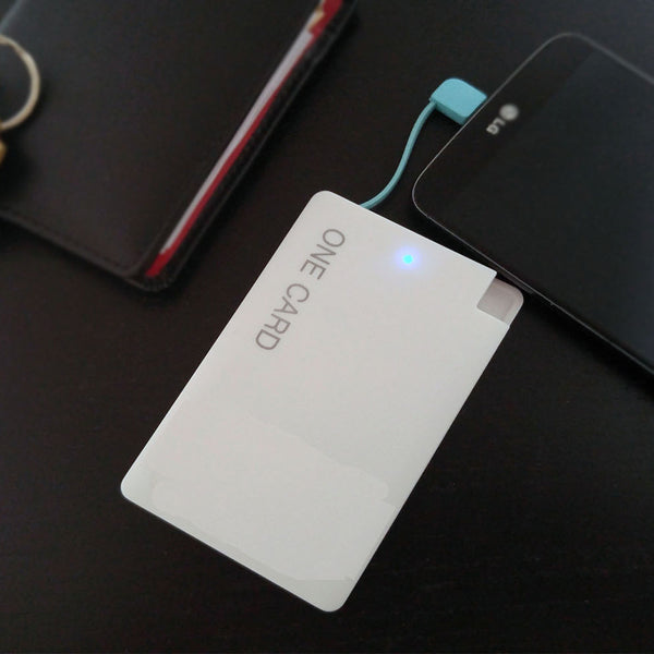 Credit Card Size Phone Charger