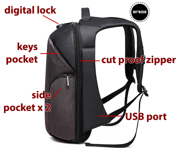 BEDA Anti-theft All Weather Backpacks