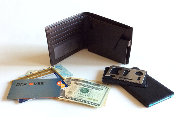 Koala Modular Leather RFID Wallet