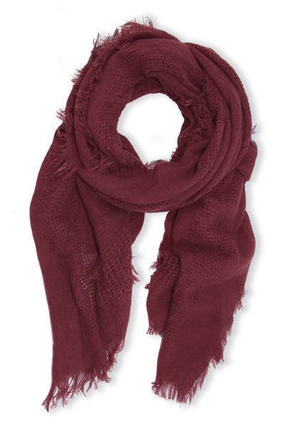 cozy warm winter scarf