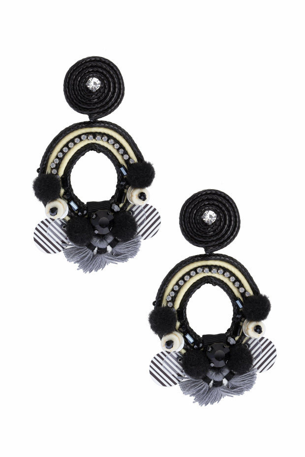 Thayer Clip-On Statement Earring 1