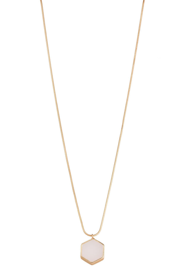 Kiera Long Pendant Adjustable Necklace
