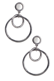 Going In Circles Statement Earring