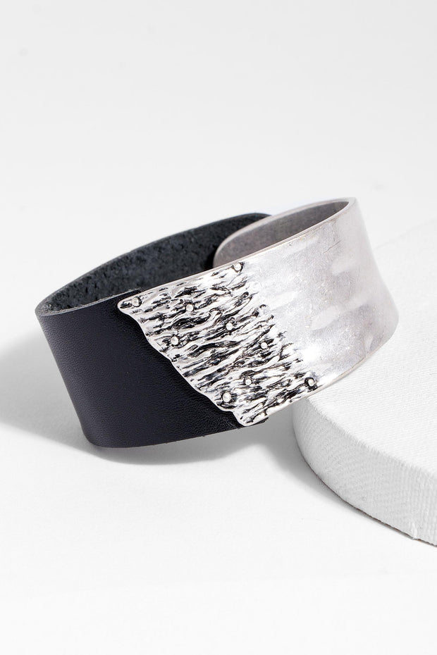 Wild Ways Leather Statement Bracelet