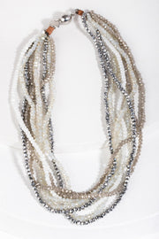 Crystal Bundle Necklace