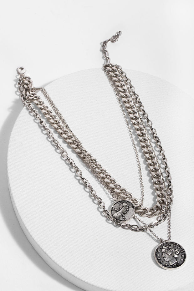 Sikka Layered Chain Necklace