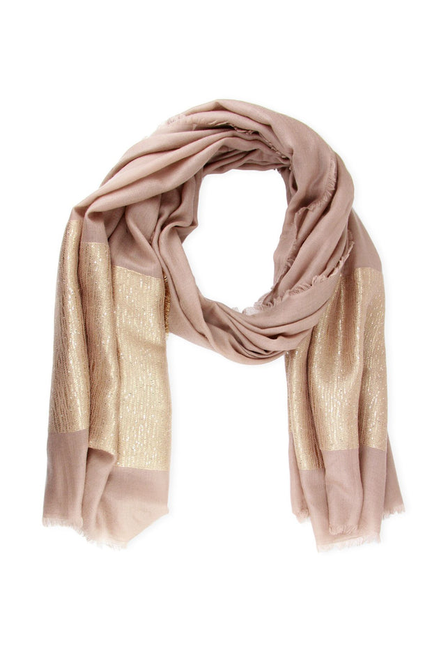 Simply Embellished Cashmere Wrap