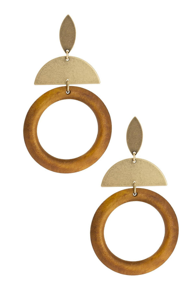 Stacked Statement Earring