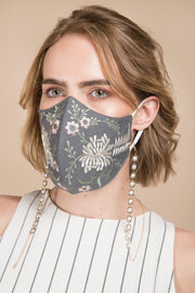 Primavera Embroidered Face Mask