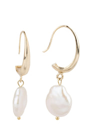 Haven Drop Pearl Earring