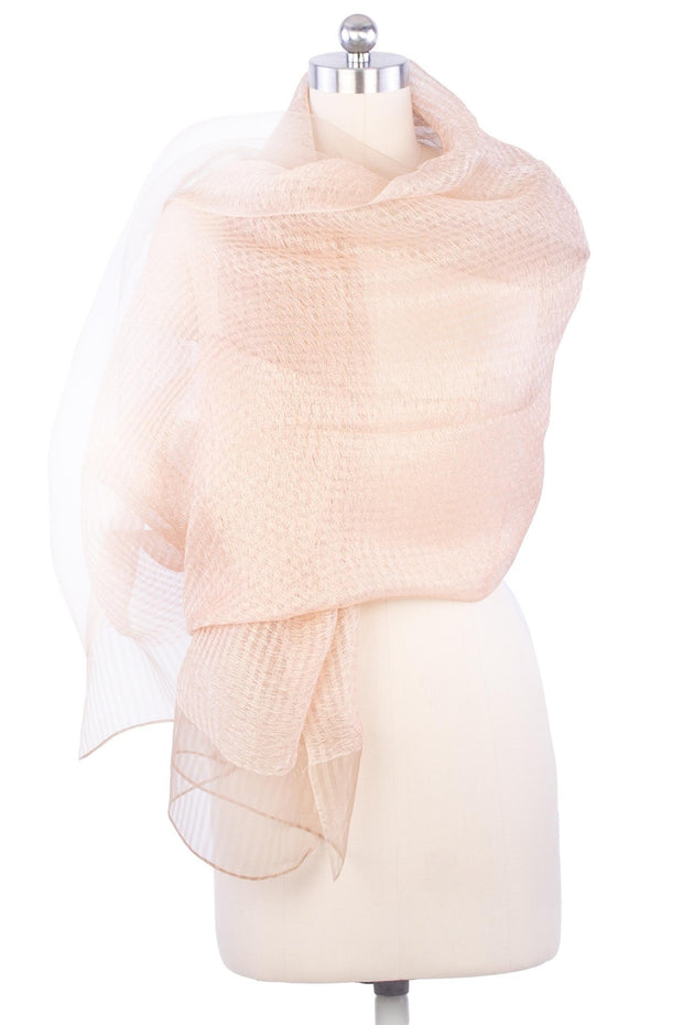 Sheer Social Wrap Scarf