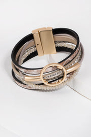 Kayla Leather Bracelet