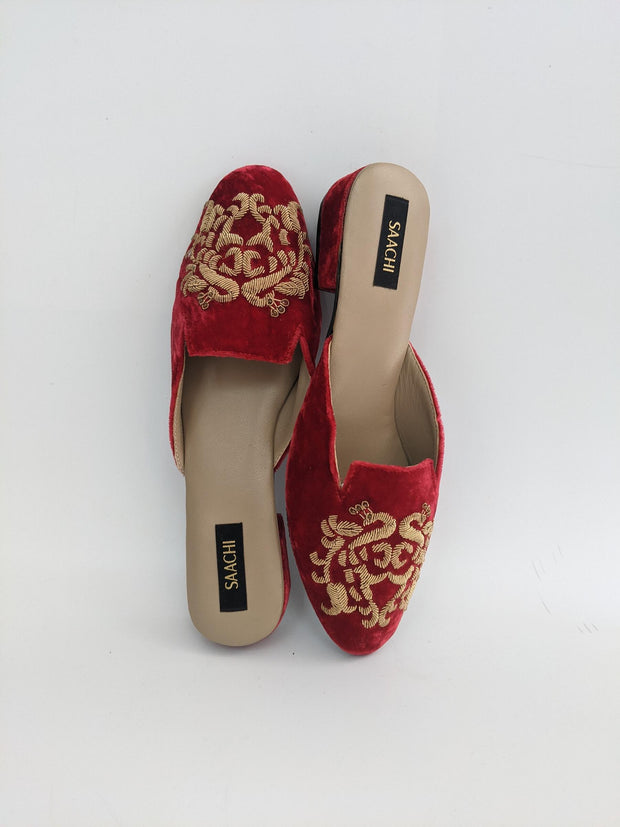 DS 182 104 VELVET RED/GOLD