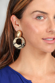 Serpent Statement Earring