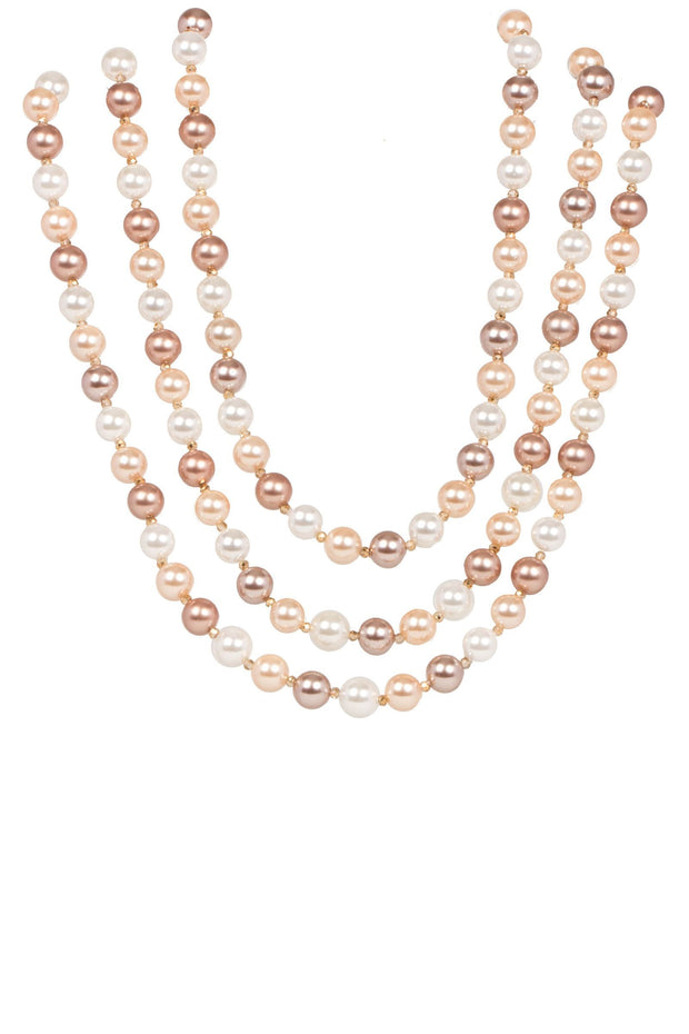 Three Layer Pearl Necklace 1
