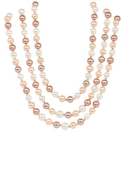 Three Layer Pearl Necklace