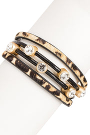 Wild Party Leather Bracelet