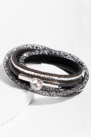 Disco Double Wrap Bracelet