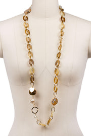 Aisha Long Chain Necklace
