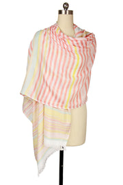 Zemira Multi Striped Scarf