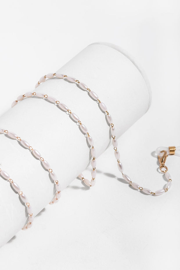 Dainty Pearl Convertible Mask Chain