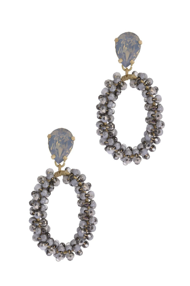 Shine Bright Beaded Drop Earring