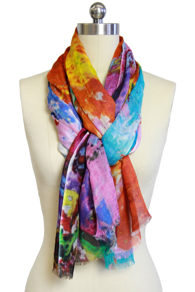 Hannalyn Colored Scarf