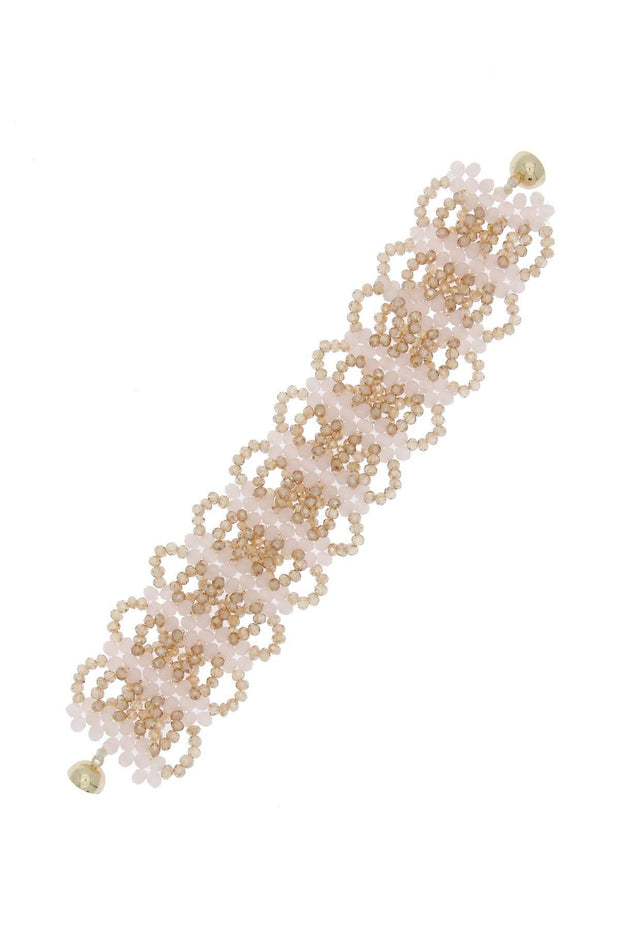 Seamless Elegant Beaded Bracelet