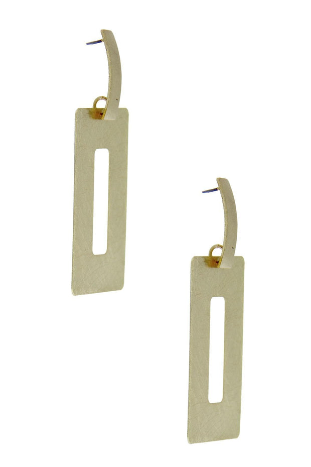 Positive Space Statement Earring