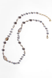 Amalfi Long Beaded Necklace