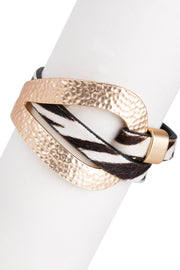 Wild Loop Leather Bracelet