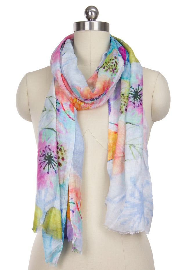 Hei Hei Floral Scarf