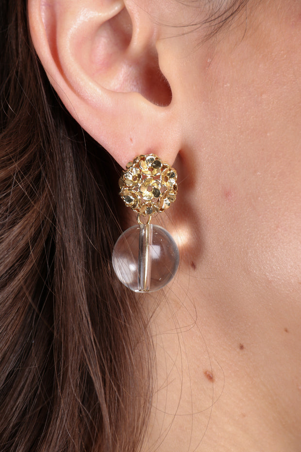 Global Garden Drop Earring
