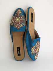 DS 782 BLUE MULTI COLOR