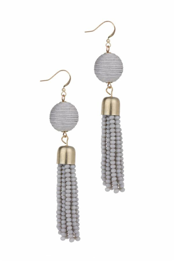 Eclipse Tassel Earring