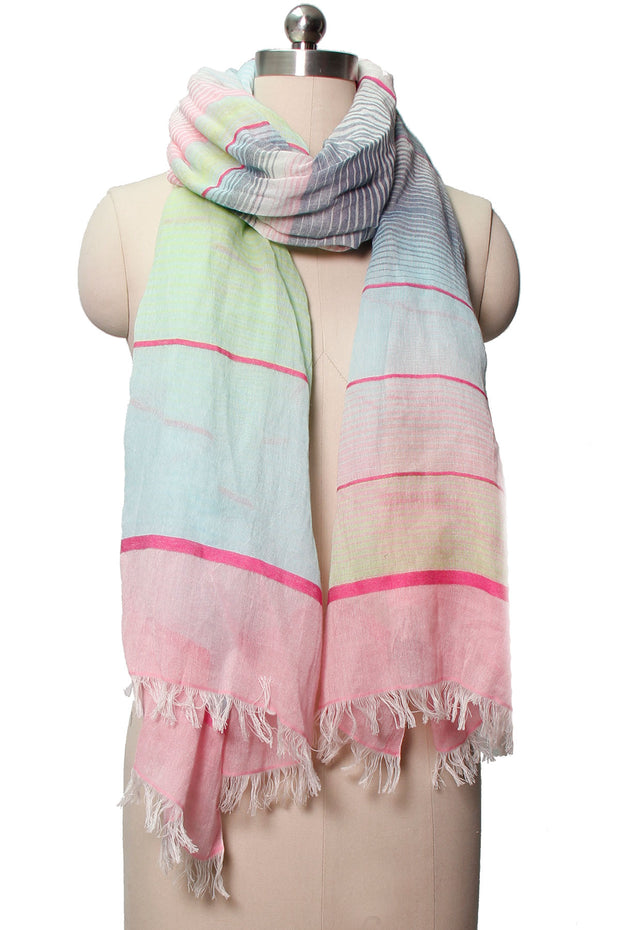 Horizon Striped Scarf