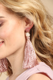 Major Tassel Statement Earring