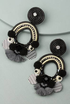 womens fashion accessories, statement earrings, clip on earring