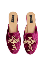 Monogram Personalized Mule